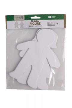 Zestaw kształtów kartonowych Figure 10szt