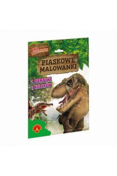 Piaskowe malowanki - Era dinozaurów ALEX