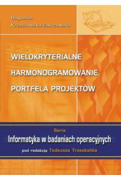 Wielokryterialne harmonogramowanie portfela projektów