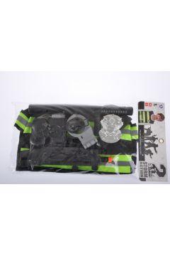 Zestaw policyjny + kamizelka 23x45cm MC