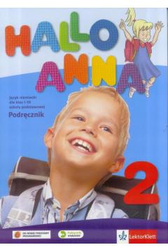 Hallo Anna 2. Podręcznik. Język niemiecki