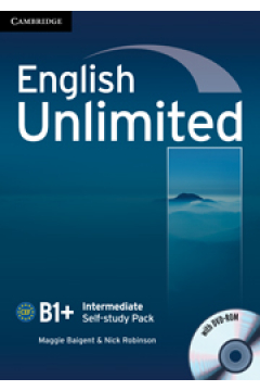 English Unlimited Intermediate Self-study Pack with DVD-ROM