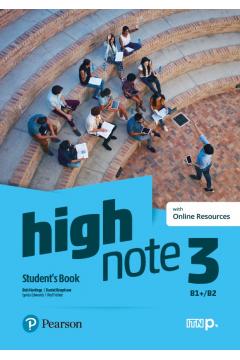 High Note 3. Student's Book + kod (Digital Resources + Interactive eBook)