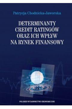 Determinanty credit ratingów oraz ich wpływ na rynek finansowy