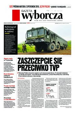 Gazeta Wyborcza - Warszawa 273/2016