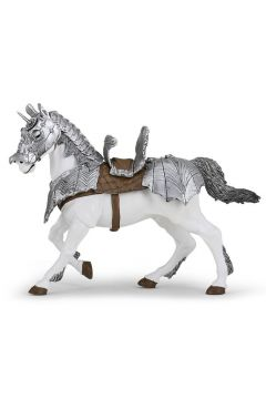 Koń w zbroi