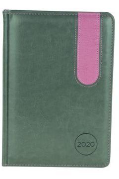 Kalendarz A5 2020. Elegance szary/fiolet