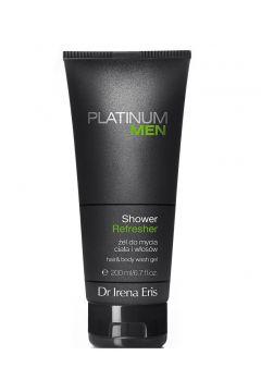Żel do mycia ciała i włosów dla mężczyzn Platinum Men Shower Refresher