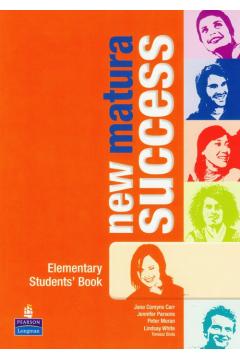 New Matura Success. Elementary Student`s Book