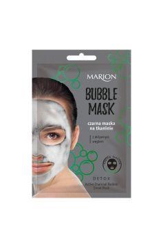 Detox Boubble Mask czarna maska na tkaninie z aktywnym węglem