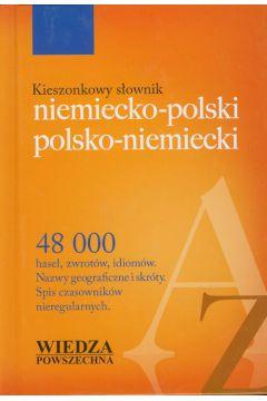 Kieszonkowy słownik niemiecko polski polsko niemiecki