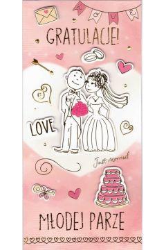 Karnet Ślub DL-086
