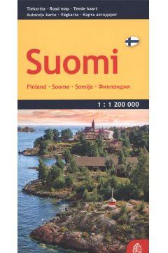 Finlandia, 1:1 200 000