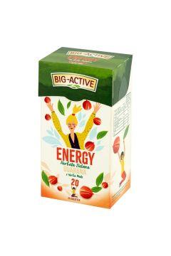 Herbata zielona guarana z yerba mate Energy