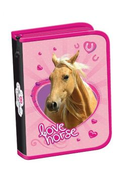 Piórnik dwuklapkowy bez wyposażenia my little friend koń