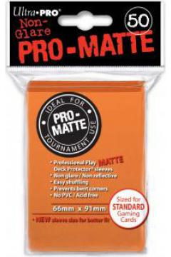 ULTRA-PRO Deck Protector - Pro-Matte Non-Glare Orange (Pomarańczowe) 50 szt.