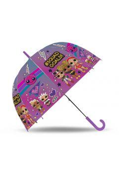 Parasolka automatyczna przeźroczysta LOL 2730 Kids Euroswan