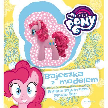 My Little Pony. Wielka tajemnica Pinkie Pie. Bajeczka z modelem