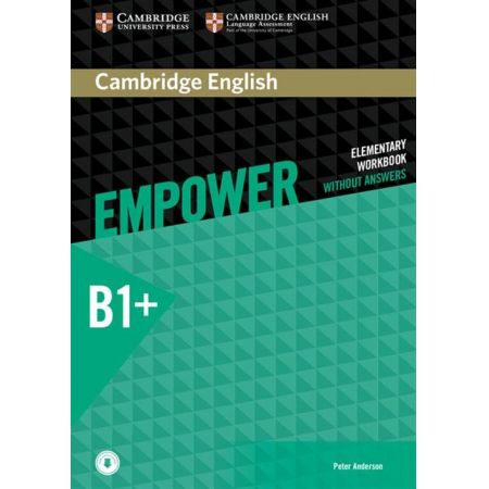 Cambridge English Empower Intermediate B1+. Workbook without answers with downloadable Audio