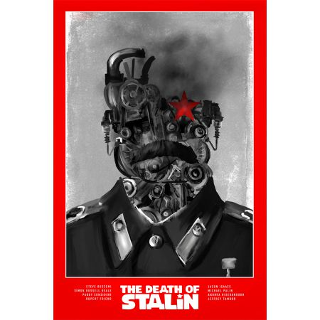 The Death of Stalin - plakat premium