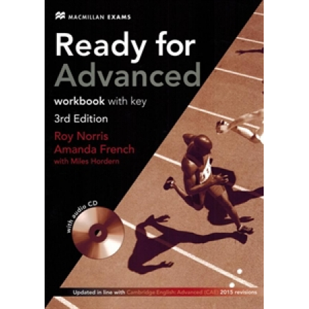 Ready for Advanced 3rd Edition Workbook with key + CD