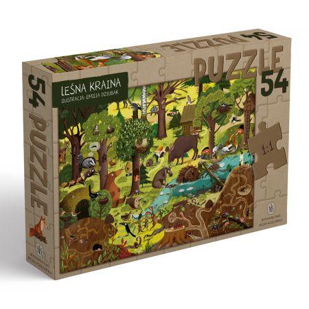 Puzzle Leśna kraina 54