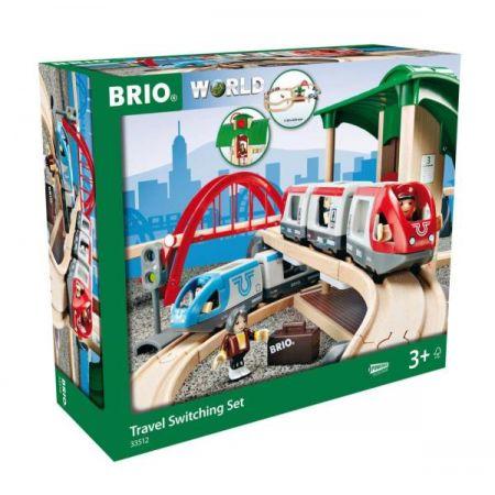 BRIO 33512 Pociąg osobowy z dworcem