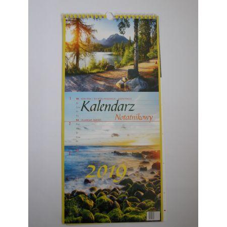 Kalendarz notatnikowy