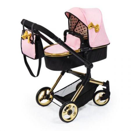 Bayer Wózek dla lalki Vario różowo-złota 18490AA