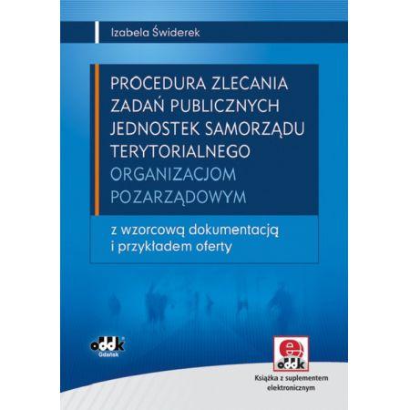 Procedura zlecania zadań publicznych jednostek samorządu terytorialnego organizacjom pozarządowym z płytą CD