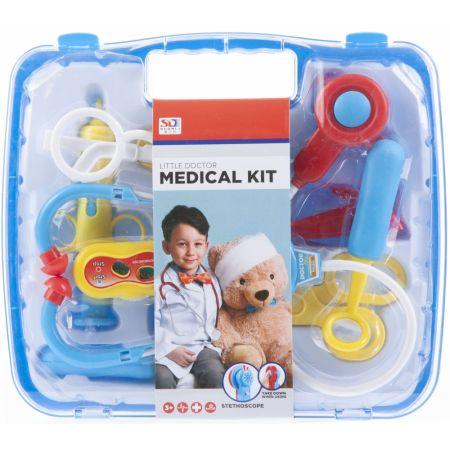 Zestaw lekarski w walizce niebieski MEGA CREATIVE 460462