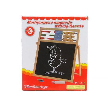 Tablica dwustronna drewno w pudełku  499980