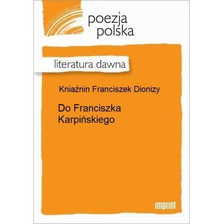 Do Franciszka Karpińskiego