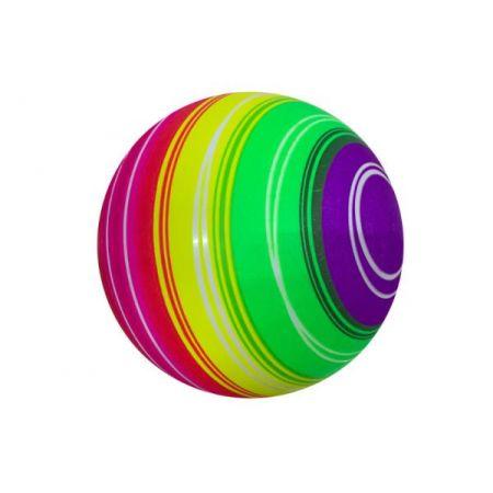 Piłka kolorowa 23cm tęcza 134425