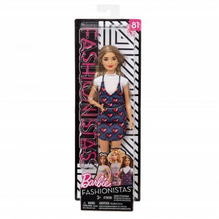 Barbie Fashionistas. Lalka Wear Your Heart
