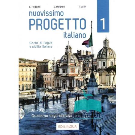 Nuovissimo Progetto italiano 1 A1-A2. Zeszyt ćwiczeń + CD