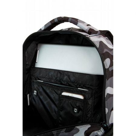 Plecak szkolny CoolPack Bentley Naszywki na szarym moro
