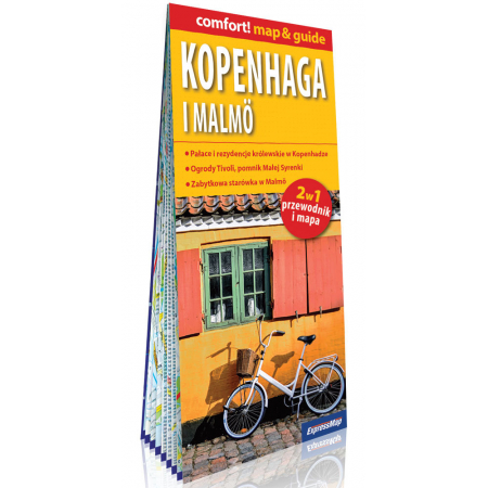 comfort! map&guide Kopenhaga i Malmö