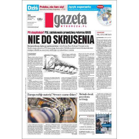 Gazeta Wyborcza - Kielce 212/2008