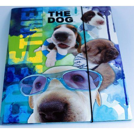 Teczka z gumką A4 The Dog DERFORM