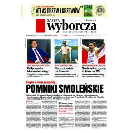 Gazeta Wyborcza - Olsztyn 184/2017
