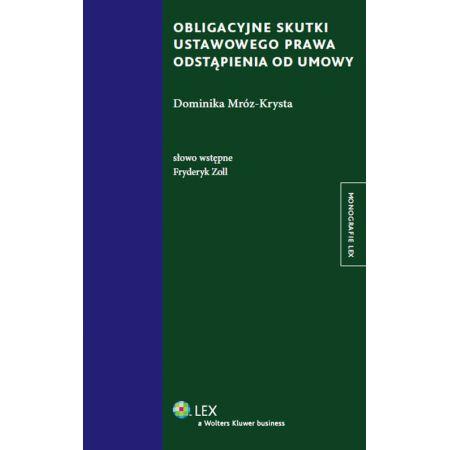 Obligacyjne skutki ustawowego prawa odstąpienia od umowy