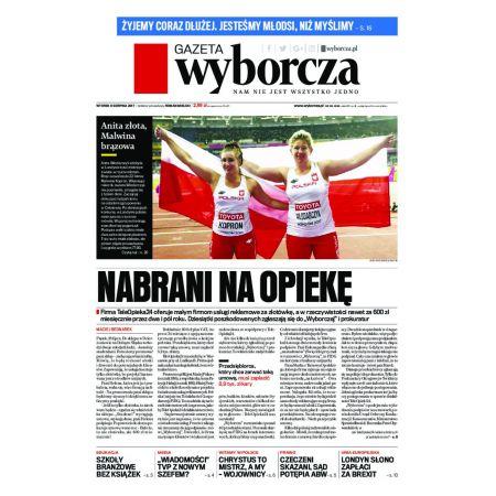 Gazeta Wyborcza - Warszawa 183/2017