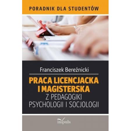 Praca licen. i mag. z pedag., psych., socjologii