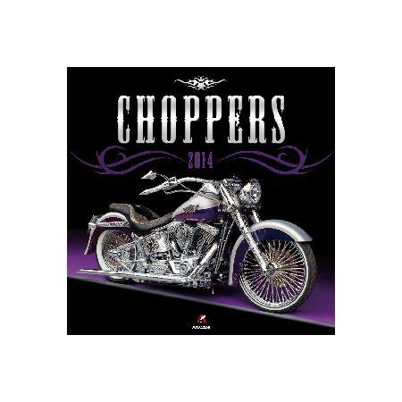 Kalendarz 2020 ścienny kwadrat Choppers