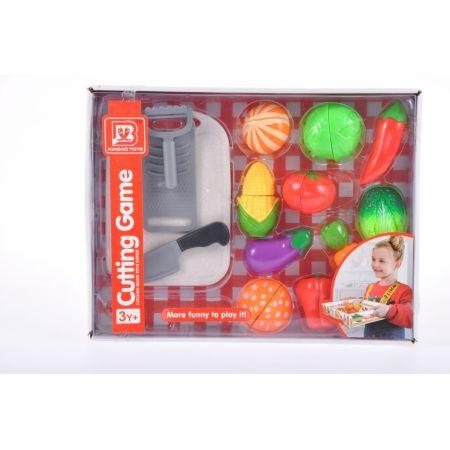 Owoce/warzywa do krojenia + akcesoria 36x27x6cm MC