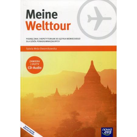 Meine Welttour. Część 4. Podręcznik z repetytorium do języka niemieckiego dla szkół ponadgimnazjalnych