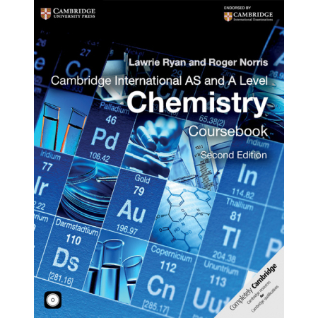 Cambridge International AS and A Level Chemistry Coursebook + CD-ROM