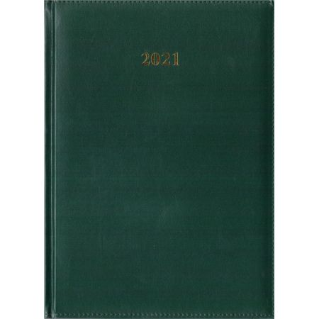 Kalendarz 2021 Tygodniowy A4 Divas Zielony
