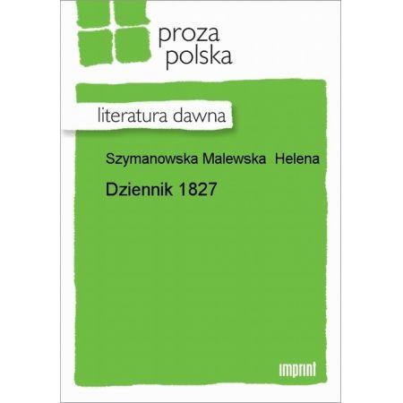Dziennik 1827
